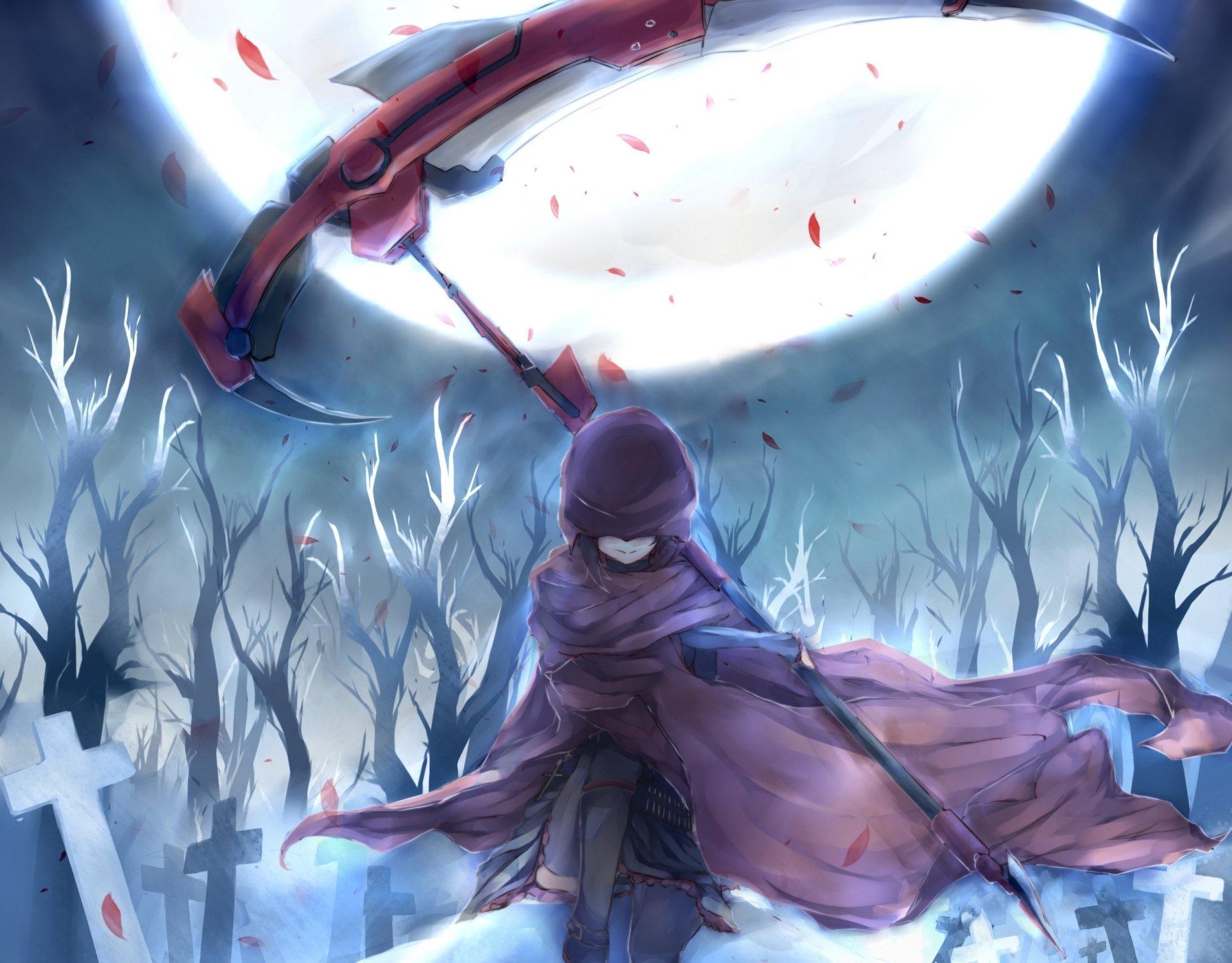 Anime - RWBY  Ruby Rose (RWBY) Anime Wallpaper