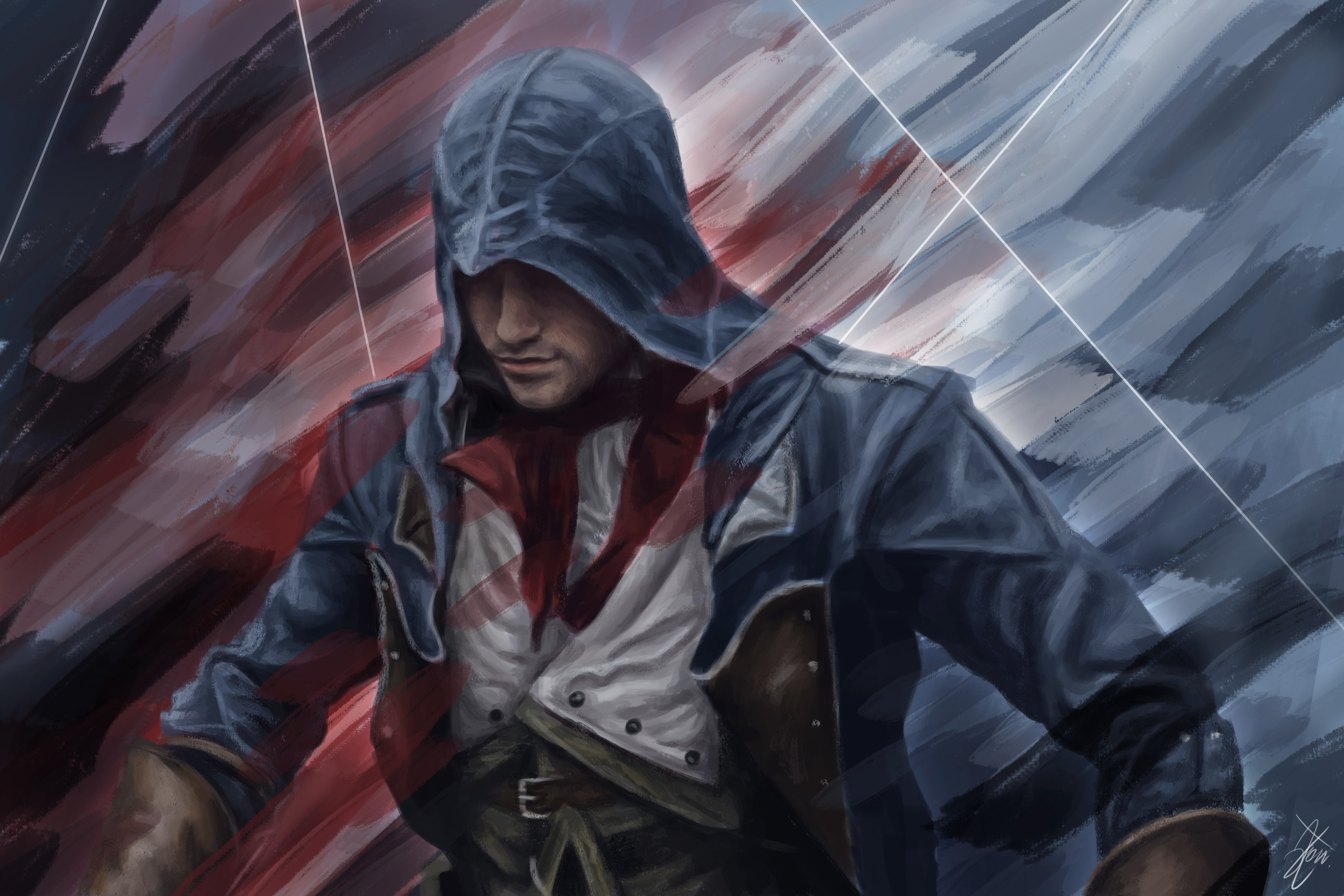 Unite by c0nny hd wallpaper background image 3543x2362 - Assassin s creed unity wallpaper ...