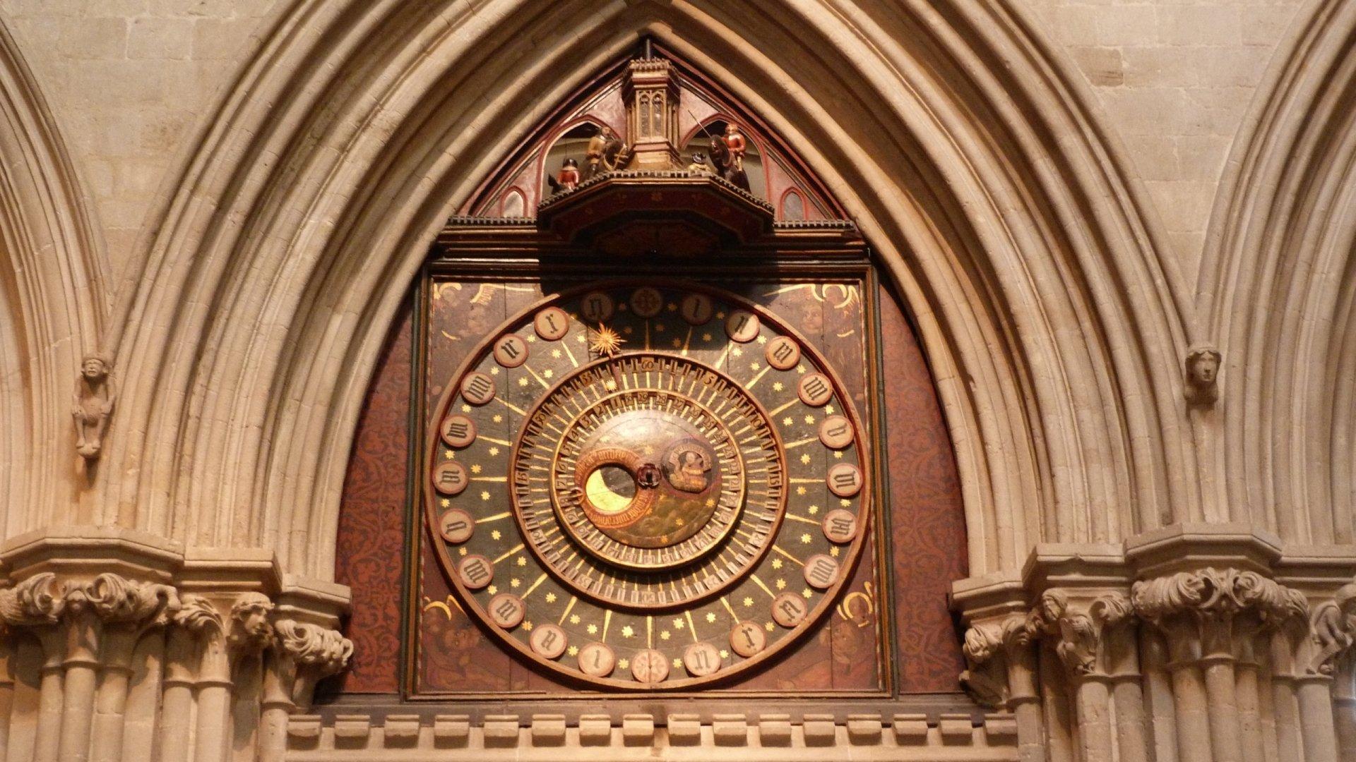 Religijne - Katedra w Wells  Tapeta
