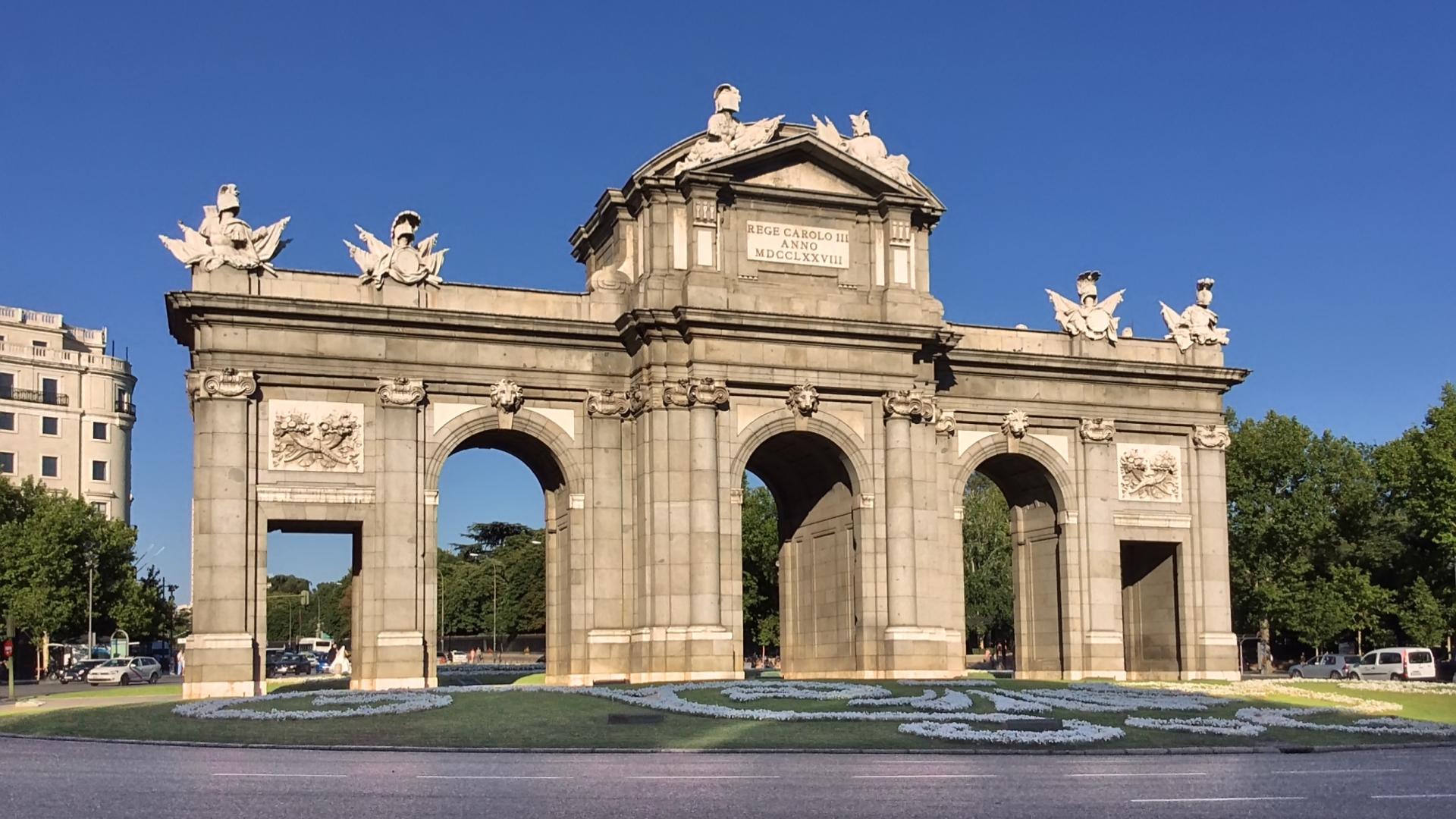 Puerta de alcal full hd wallpaper and background image - La puerta de alcala ...