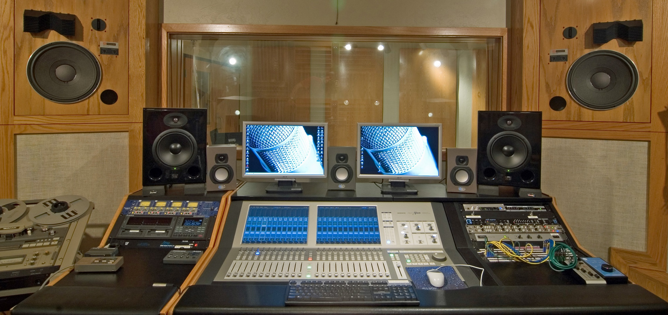 Recording Studio Wallpaper And Background 2278x1076 Id