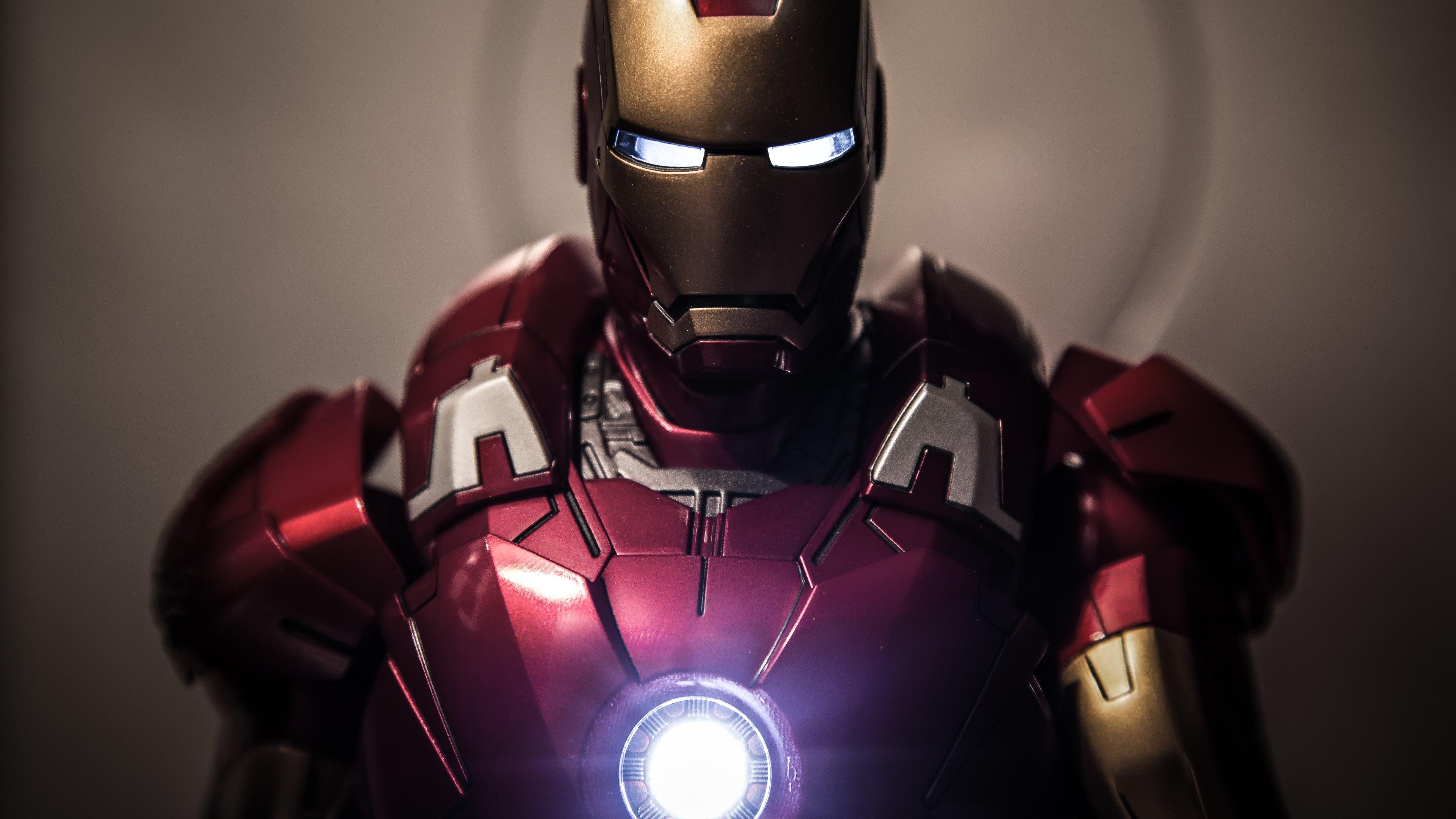 Iron man fonds d 39 cran arri res plan 3840x2160 id 551538 - Iron man telecharger ...