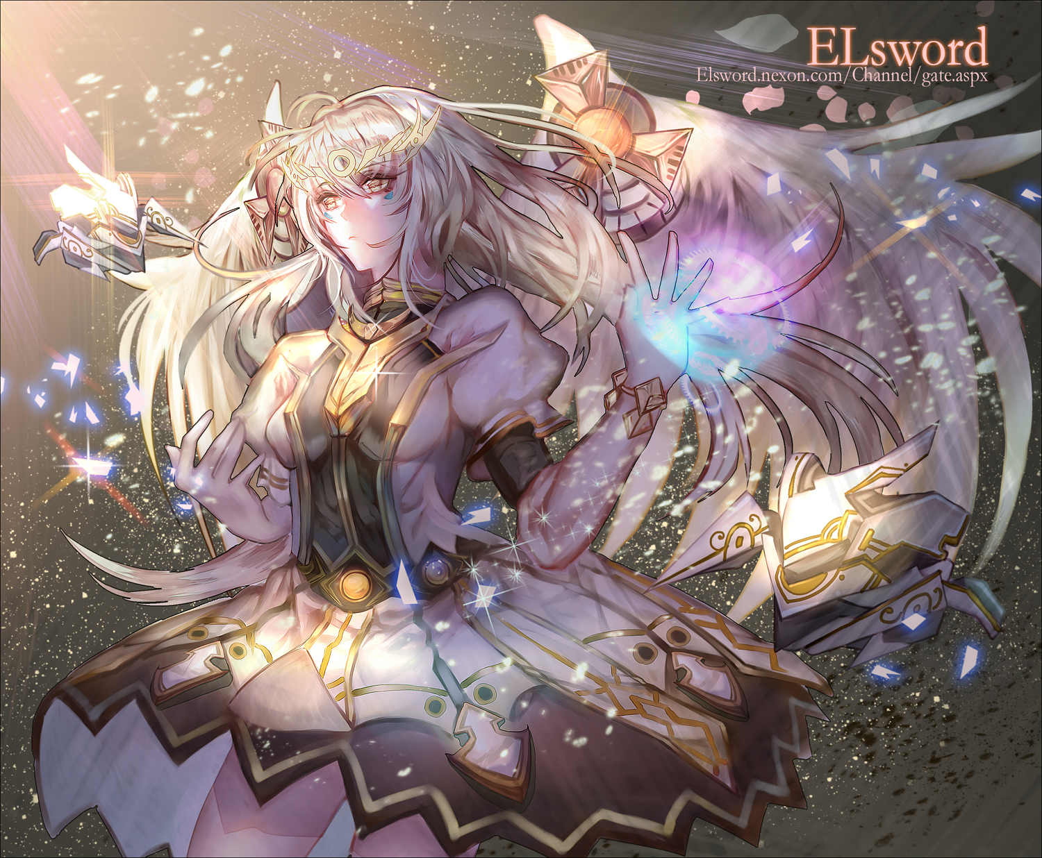 Download 1280x1024 Elsword, Lena, Aisha, Raven, Eve, Anime Style ...