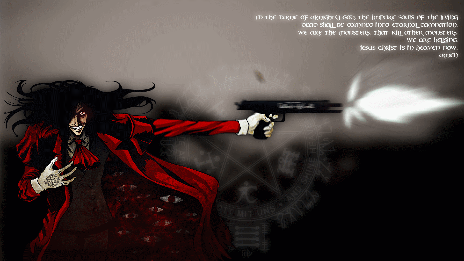 Hd Background Wallpaper 800x600: Hellsing HD Wallpaper