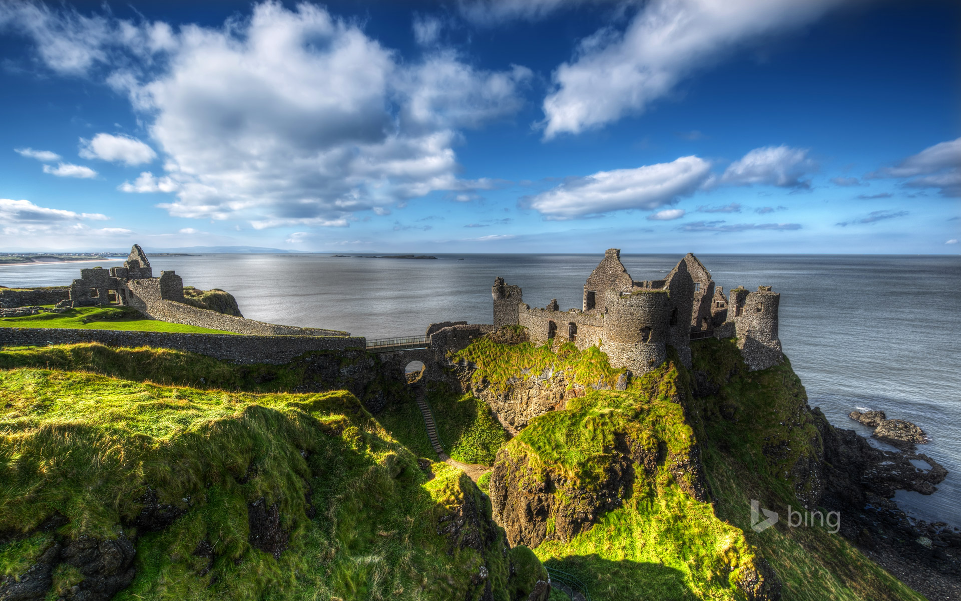 2 Dunluce Castle HD Wallpapers  Backgrounds Wallpaper Abyss
