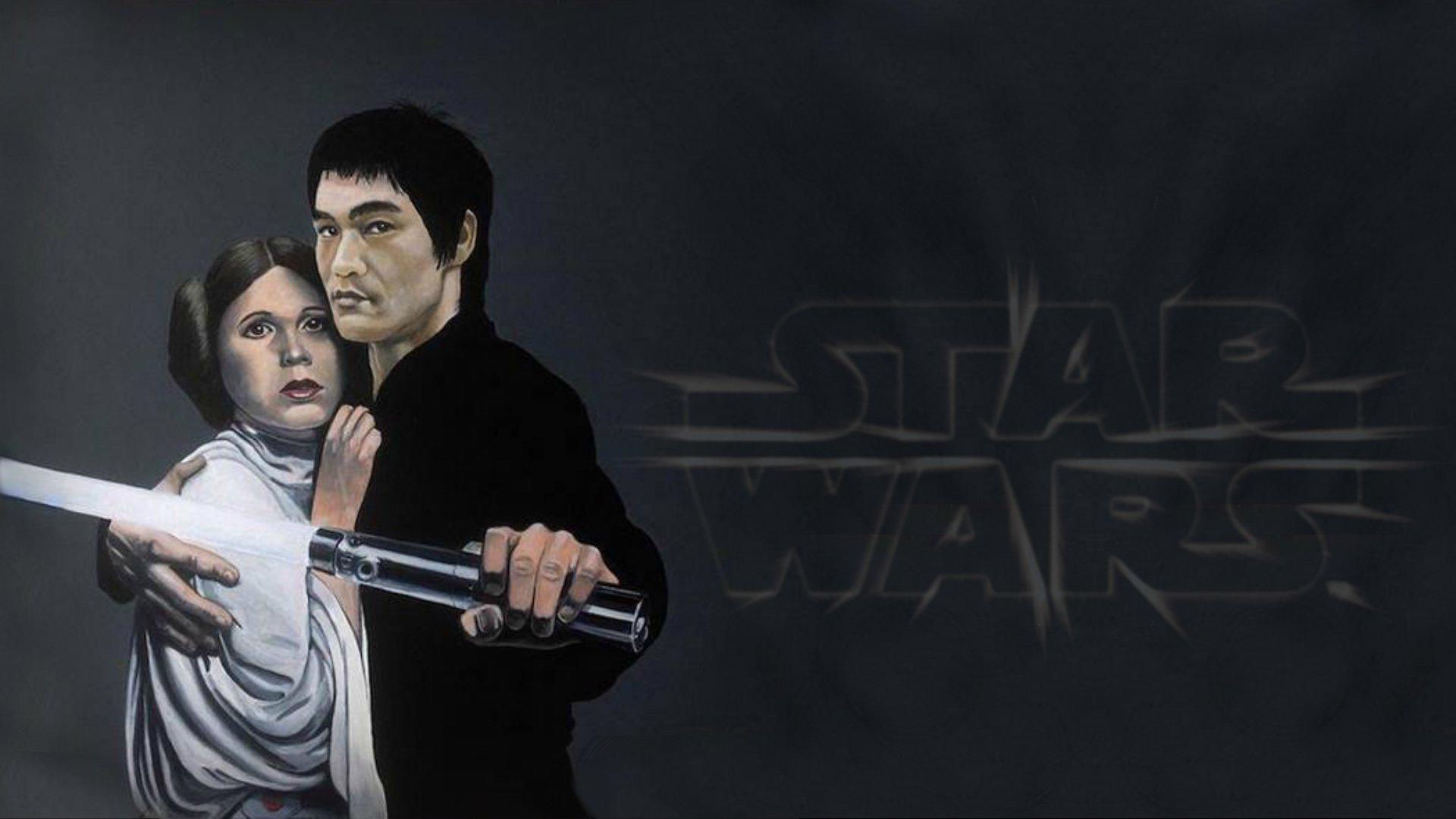 Sci Fi - Star Wars  Bruce Lee Wallpaper
