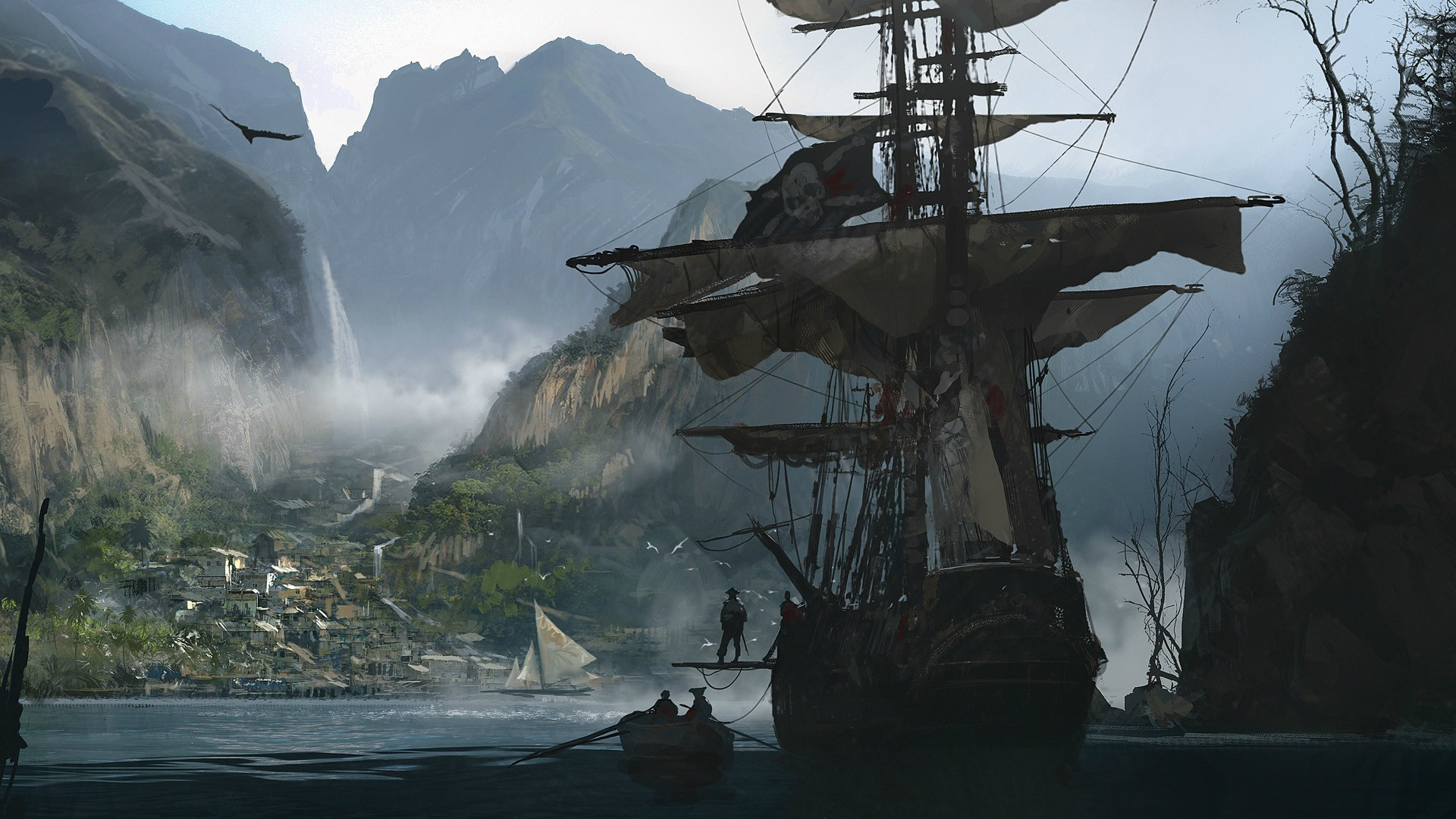 Assassins Creed IV Black Flag Full HD Wallpaper And Background  1920x1080 ID557028