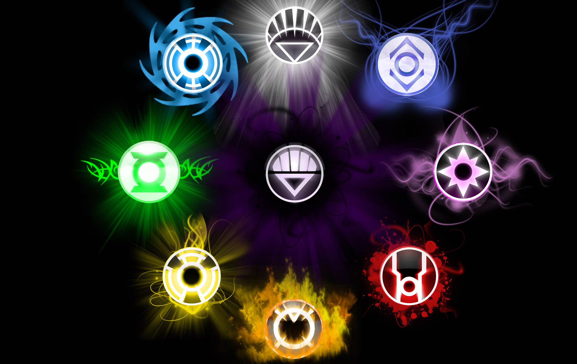 Green Lantern Corps Wallpaper and Background Image ...
