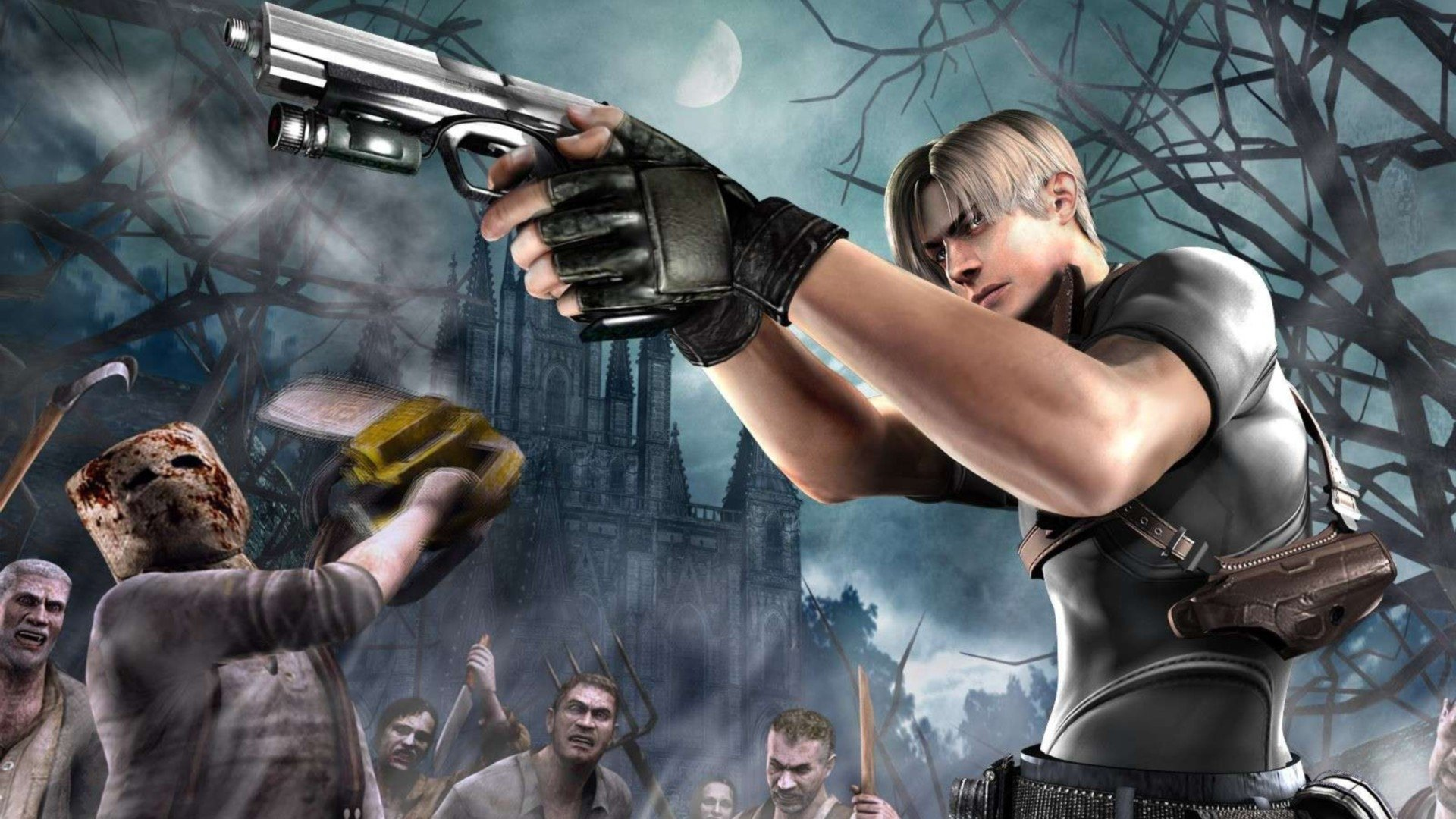 Resident Evil 4 Hd Wallpaper Background Image 1920x1080
