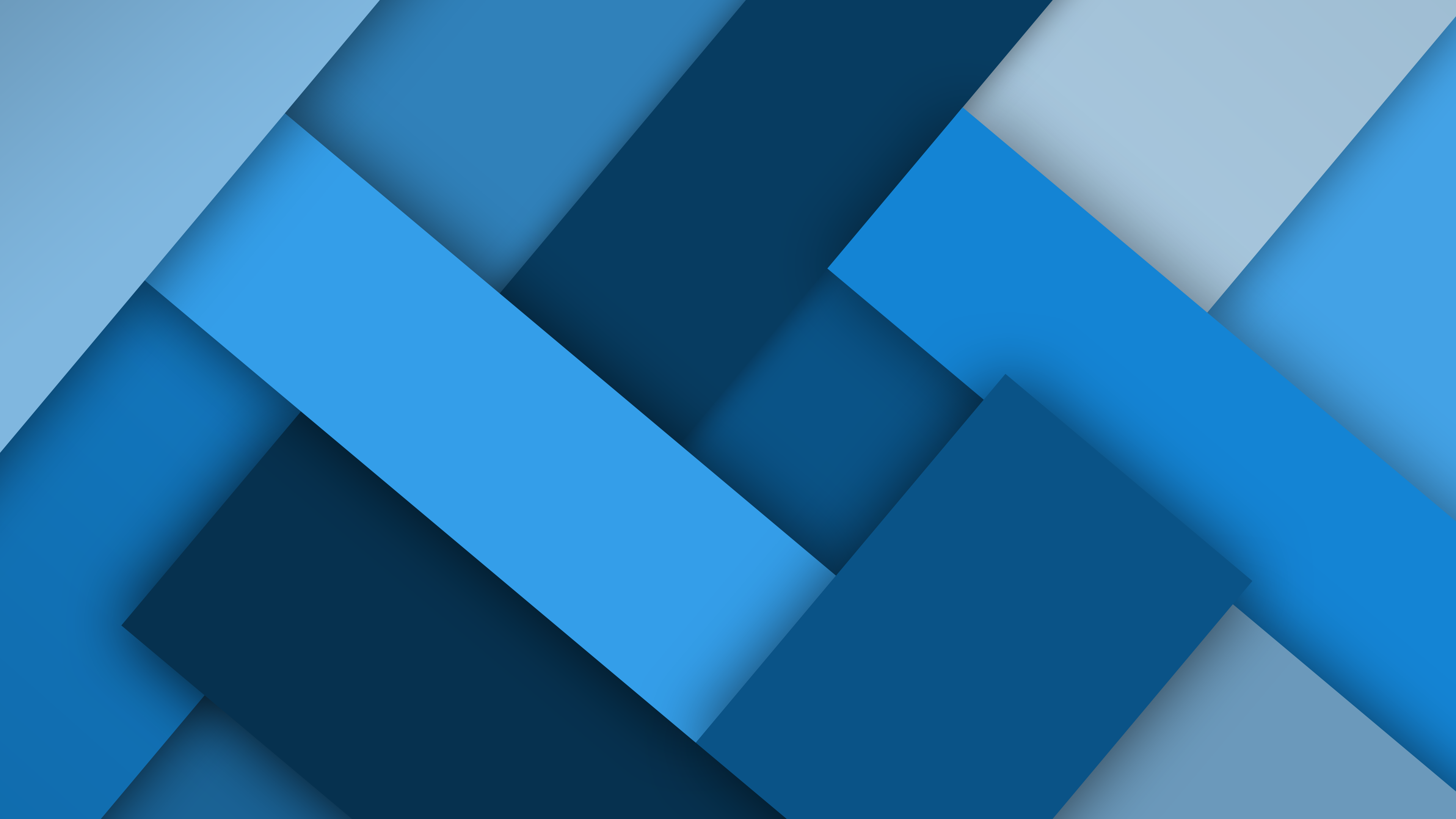 Blocks Blue 4k Ultra HD Wallpaper And Background Image