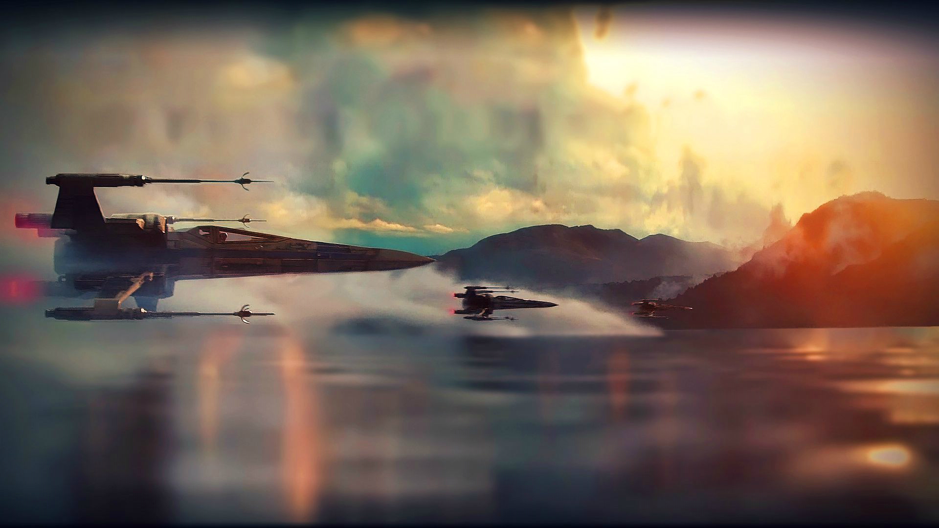 Star Wars The Force Awakens Wallpaper: Star Wars Episode VII: The Force Awakens HD Wallpaper