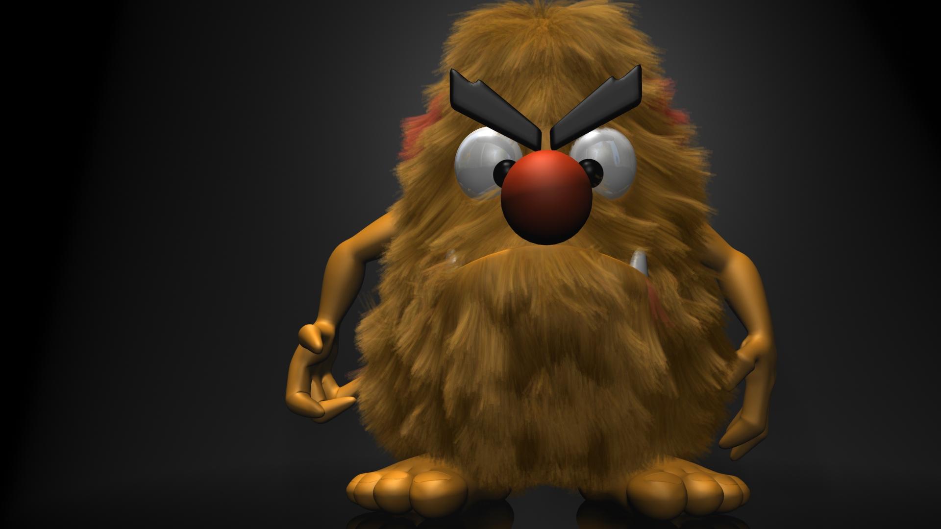 Hairy Monster HD Wallpaper