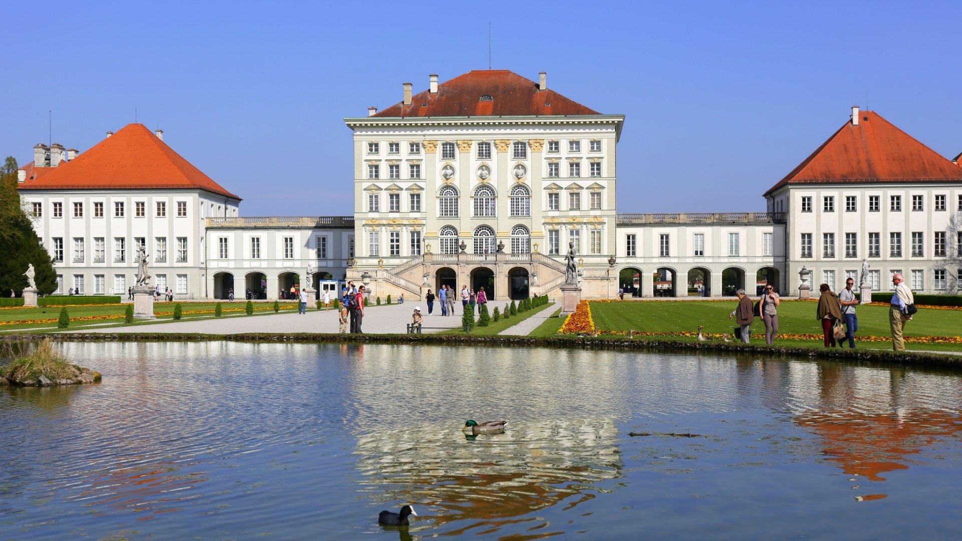 نتيجة بحث الصور عن hd Nymphenburg Palace