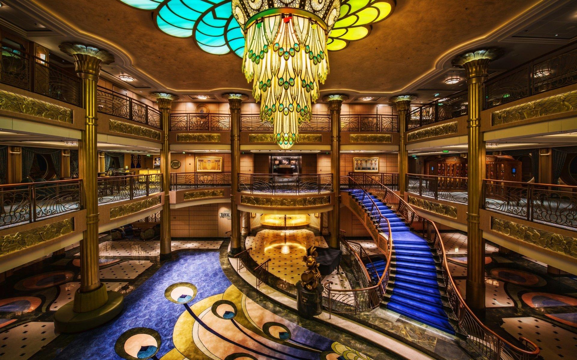 Cruise Ship Interior HD Wallpaper