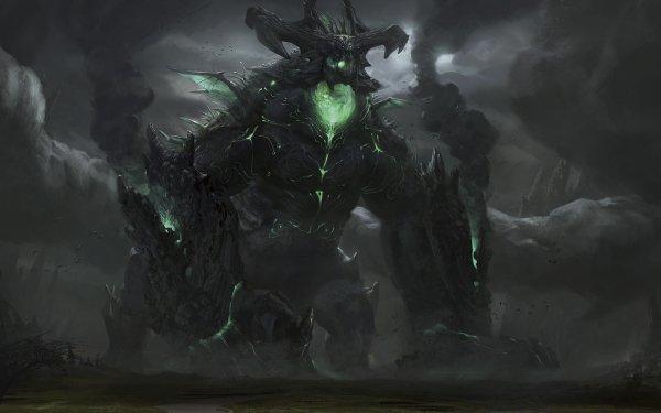 Fantasy Demon HD Wallpaper | Background Image