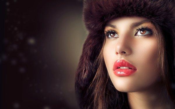 Women Judy Wilkins Models Girl Face HD Wallpaper | Background Image