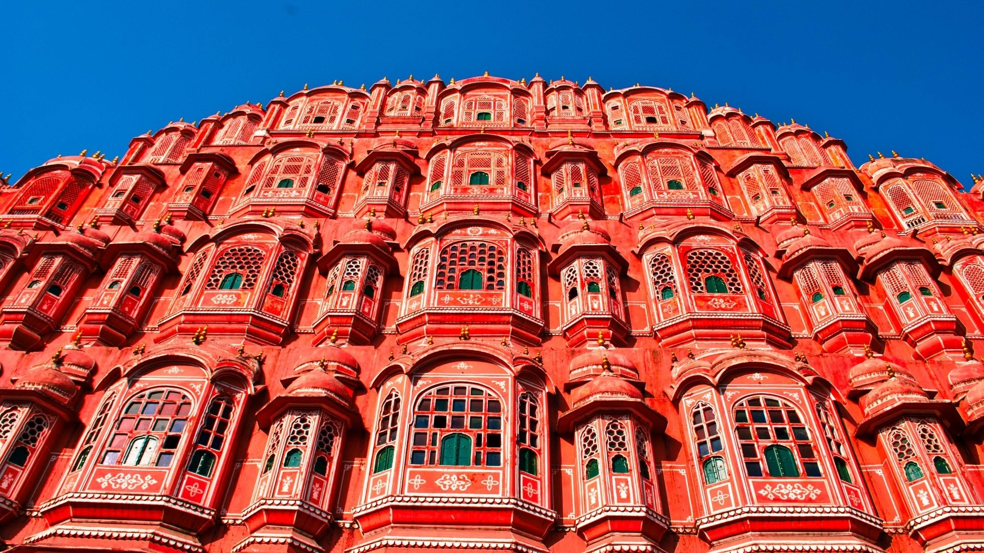 Indian Hd Backgrounds: Hawa Mahal Full HD Wallpaper And Background Image