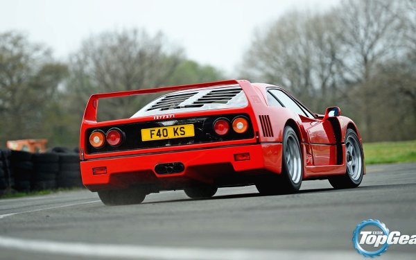 TV Show Top Gear Ferrari F40 HD Wallpaper | Background Image