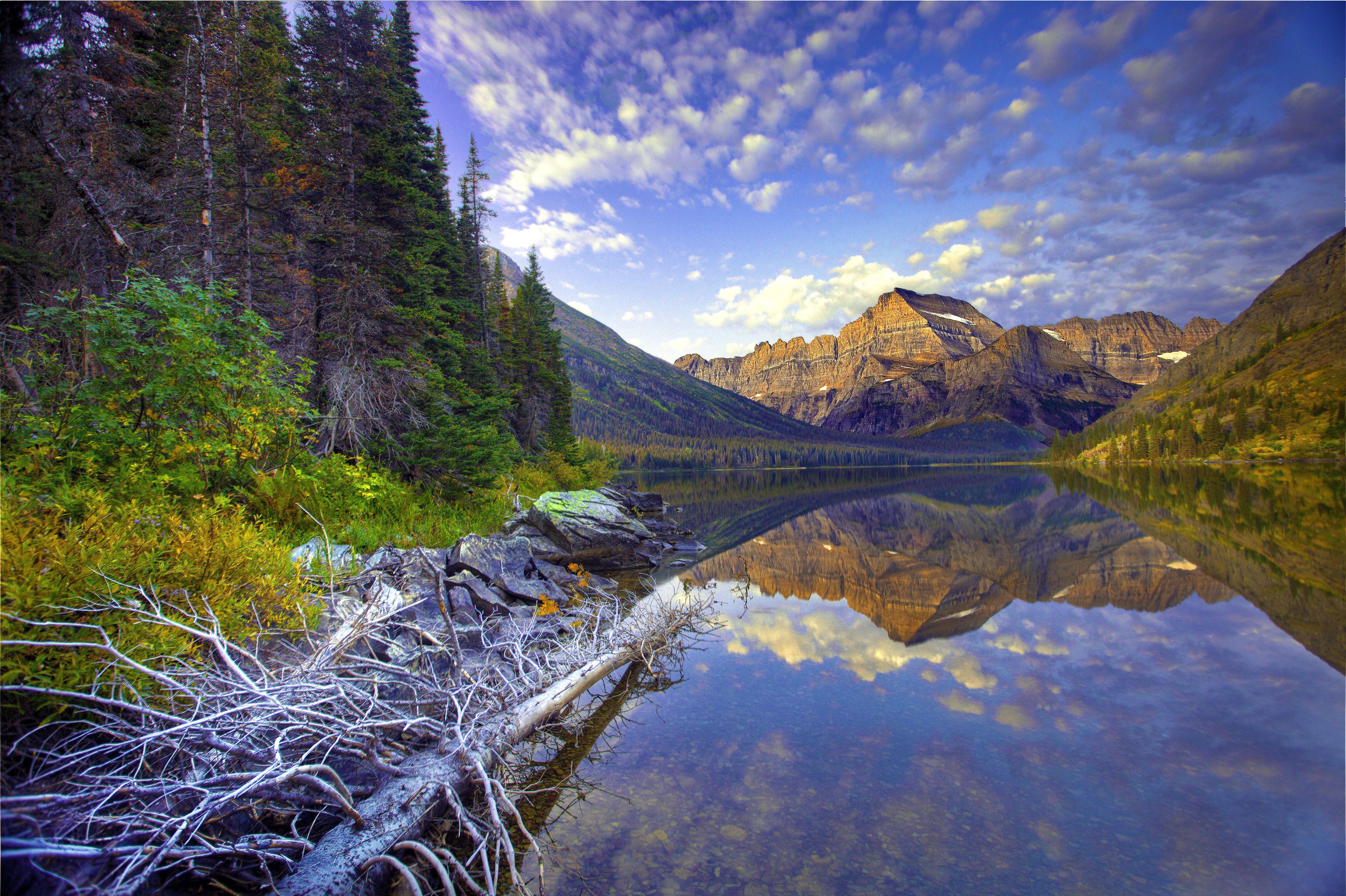 Lake josephine montana 5k retina ultra hd wallpaper for Sfondi hd natura