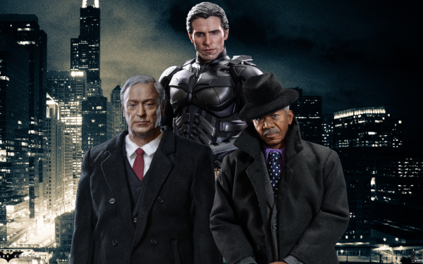 Movie The Dark Knight Trilogy Batman Movies Hot Toys The Dark Knight Fan Art HD Wallpaper | Background Image
