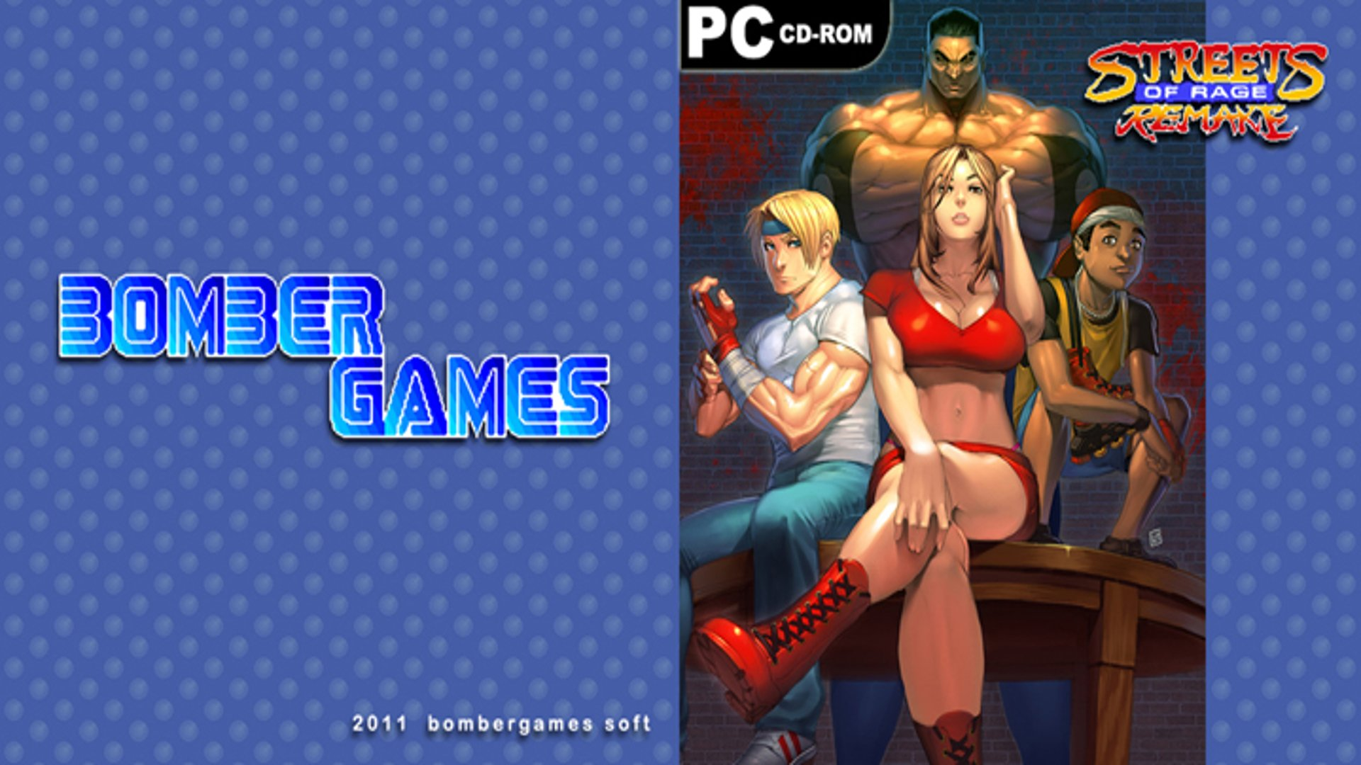 4 Streets Of Rage Remake V5 Hd Wallpapers Background Images