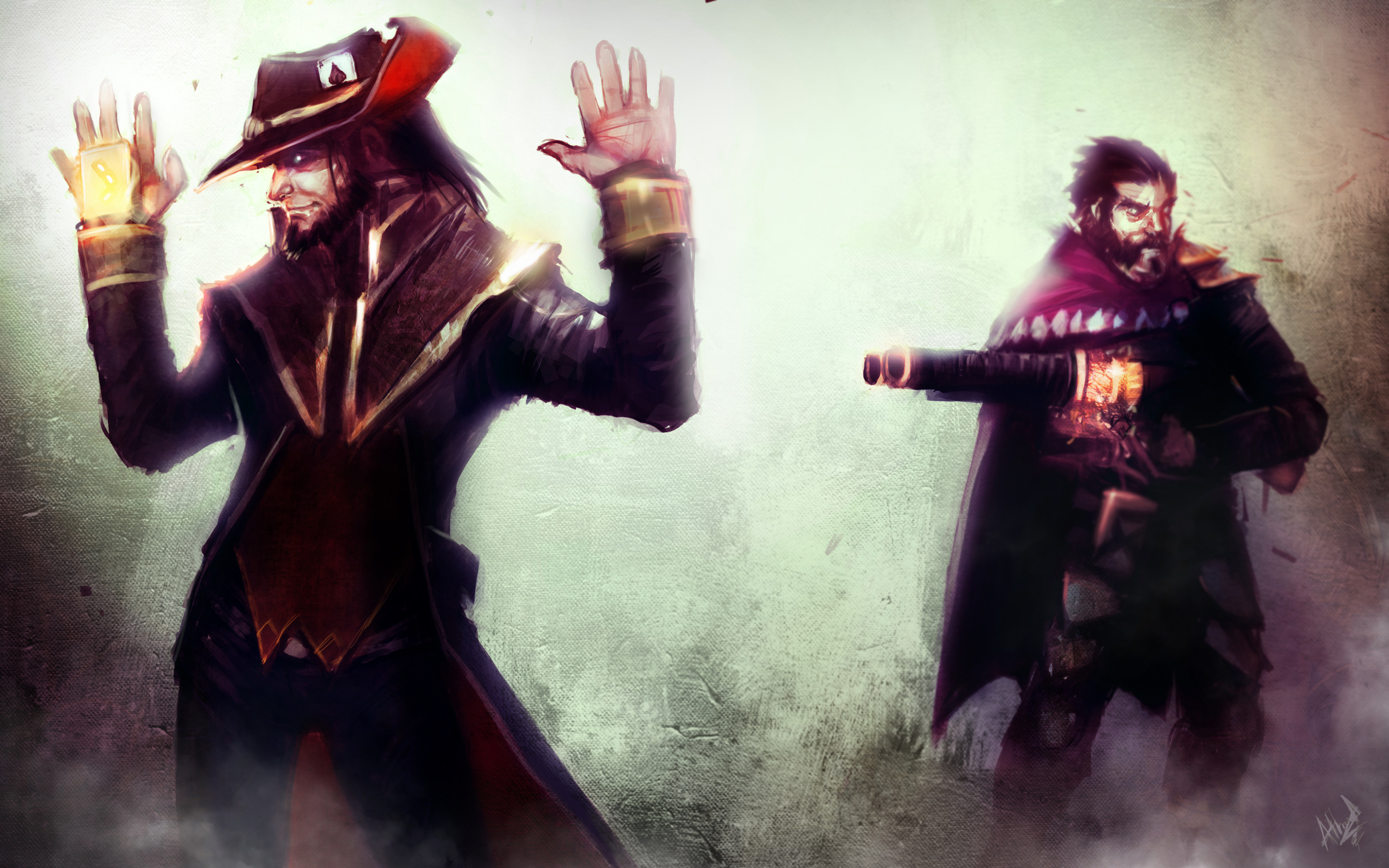League of legends full hd wallpaper and background image 2560x1600 video game league of legends twisted fate league of legends graves league voltagebd Images