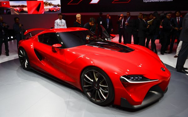 Véhicules Toyota FT-1 Toyota Supercar Voiture Concept Car Red Car Fond d'écran HD | Image