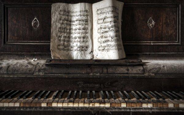 Music Piano HD Wallpaper | Background Image