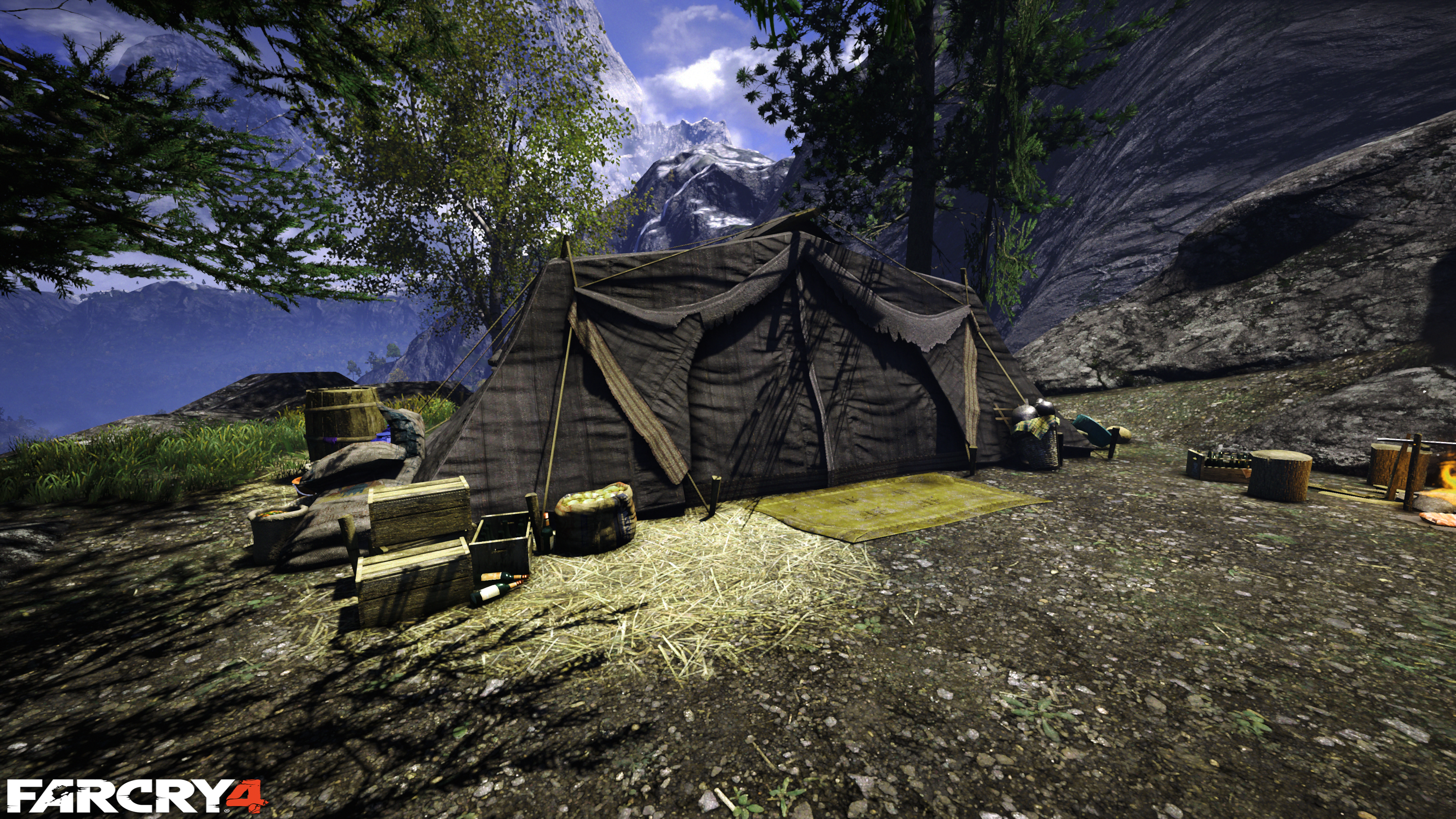 Far Cry 4 Drug Tent Wallpaper 4k! 4k Ultra HD Papel De
