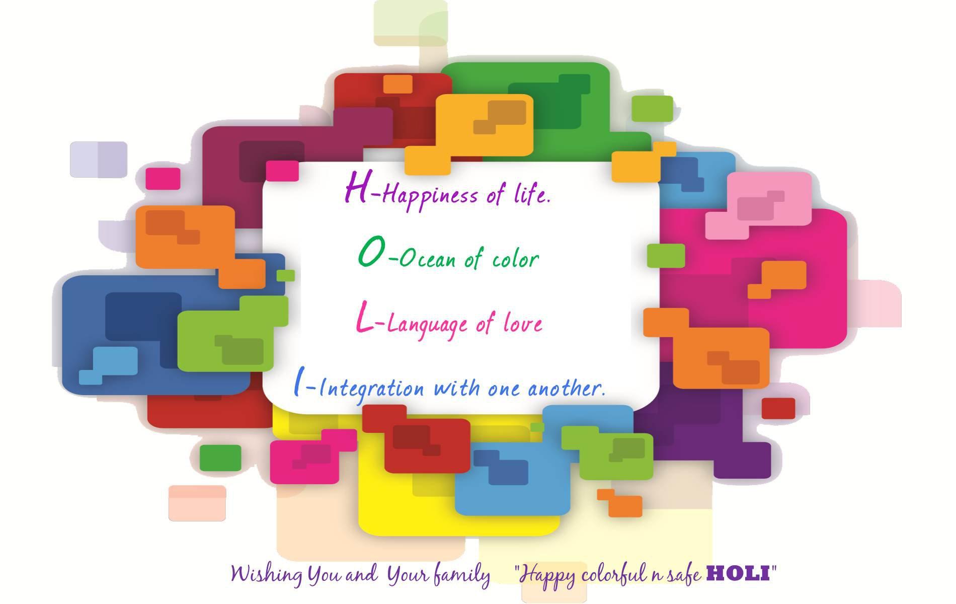 Feestdag - Holi-Phagwa  Kleuren Wallpaper