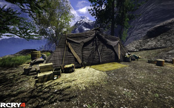 Video Game Far Cry 4 Far Cry Tent HD Wallpaper | Background Image