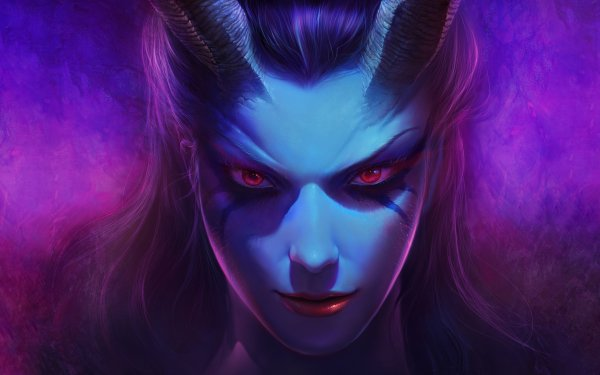 Video Game DotA 2 Dota Queen Of Pain HD Wallpaper | Background Image