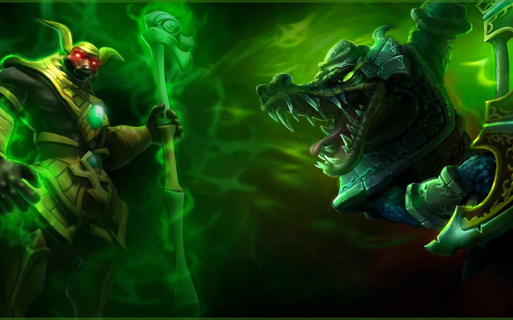 Video Game - League Of Legends  Renekton (League Of Legends) Nasus (League Of Legends) Wallpaper