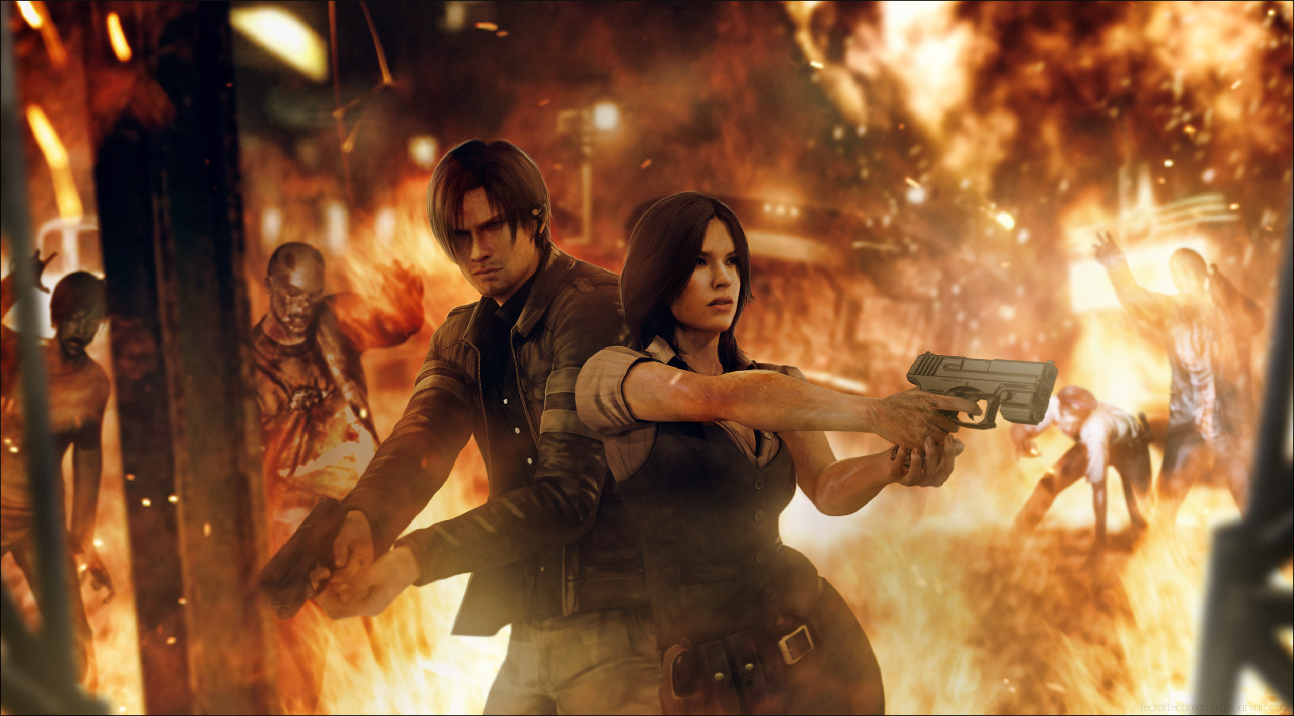 resident evil 6 full hd papel de parede and background
