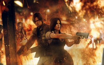 232 Resident Evil 6 HD Wallpapers