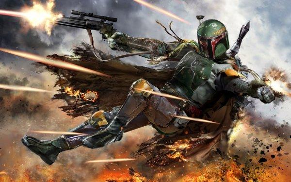 Sci Fi Star Wars Boba Fett Bounty Hunter HD Wallpaper | Background Image