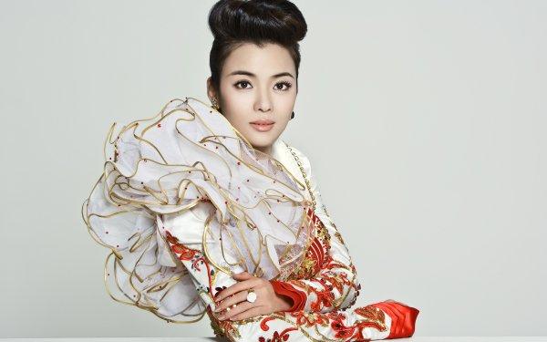 Music Chén Sīsī Singers China Chinese Fancy Dress HD Wallpaper | Background Image