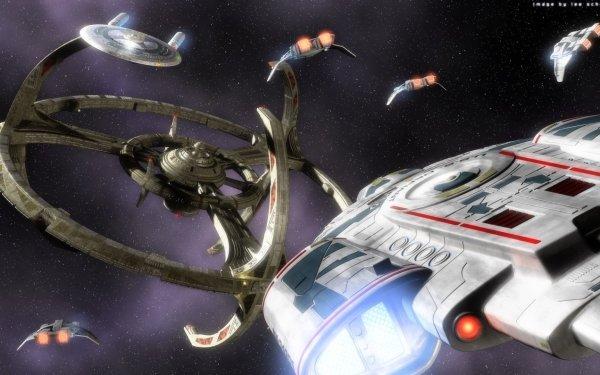 TV Show Star Trek: Deep Space Nine Star Trek Deep Space Nine USS DEFIANT NX-74205 HD Wallpaper | Background Image