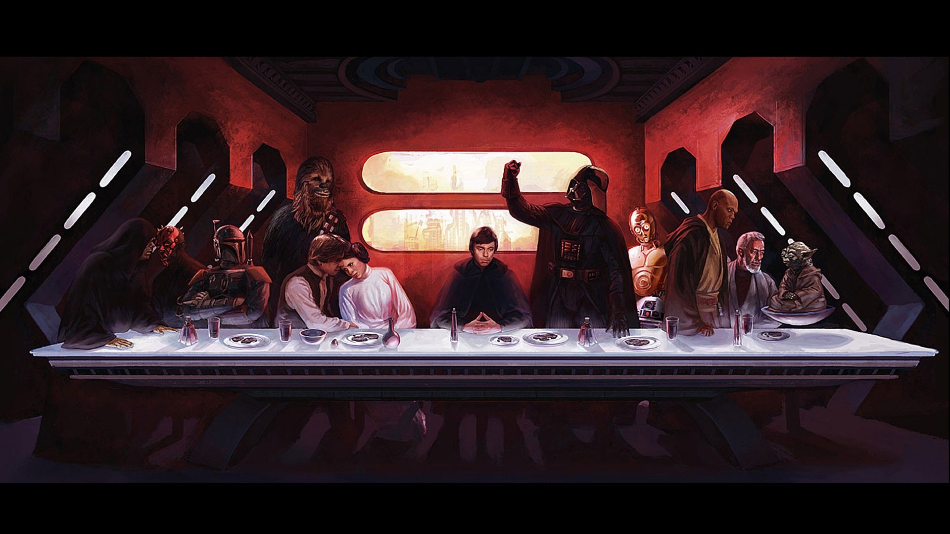 Sci Fi - Star Wars  The Last Supper Wallpaper
