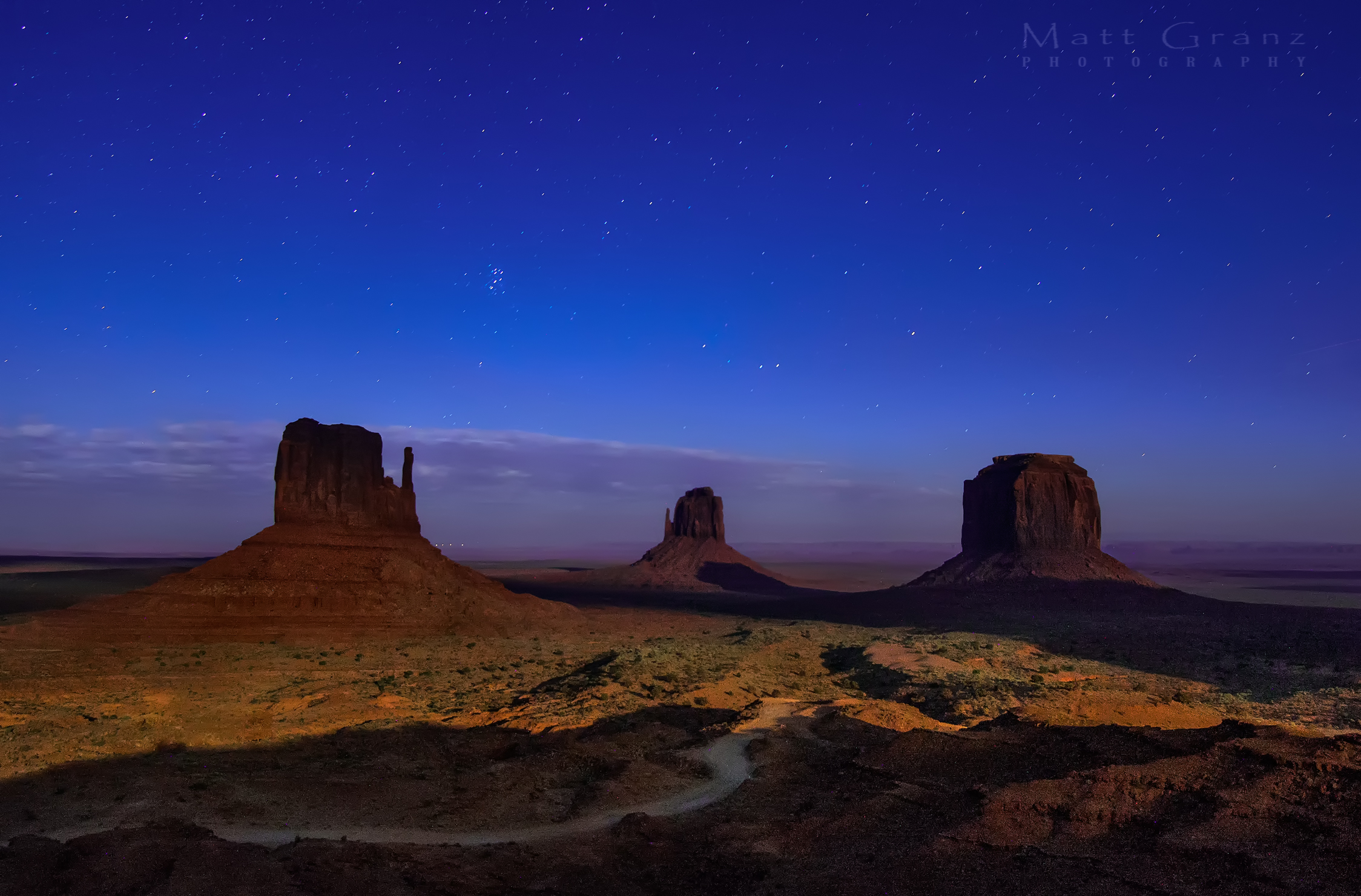 Monuments And Stars HD Wallpaper