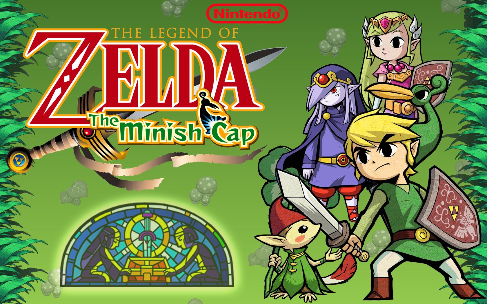 the legend of zelda the minish cap wallpaper and