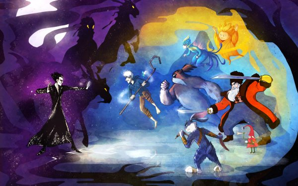 Movie Rise Of The Guardians Jack Frost Tooth Pitch North E. Aster Bunnymund HD Wallpaper | Background Image