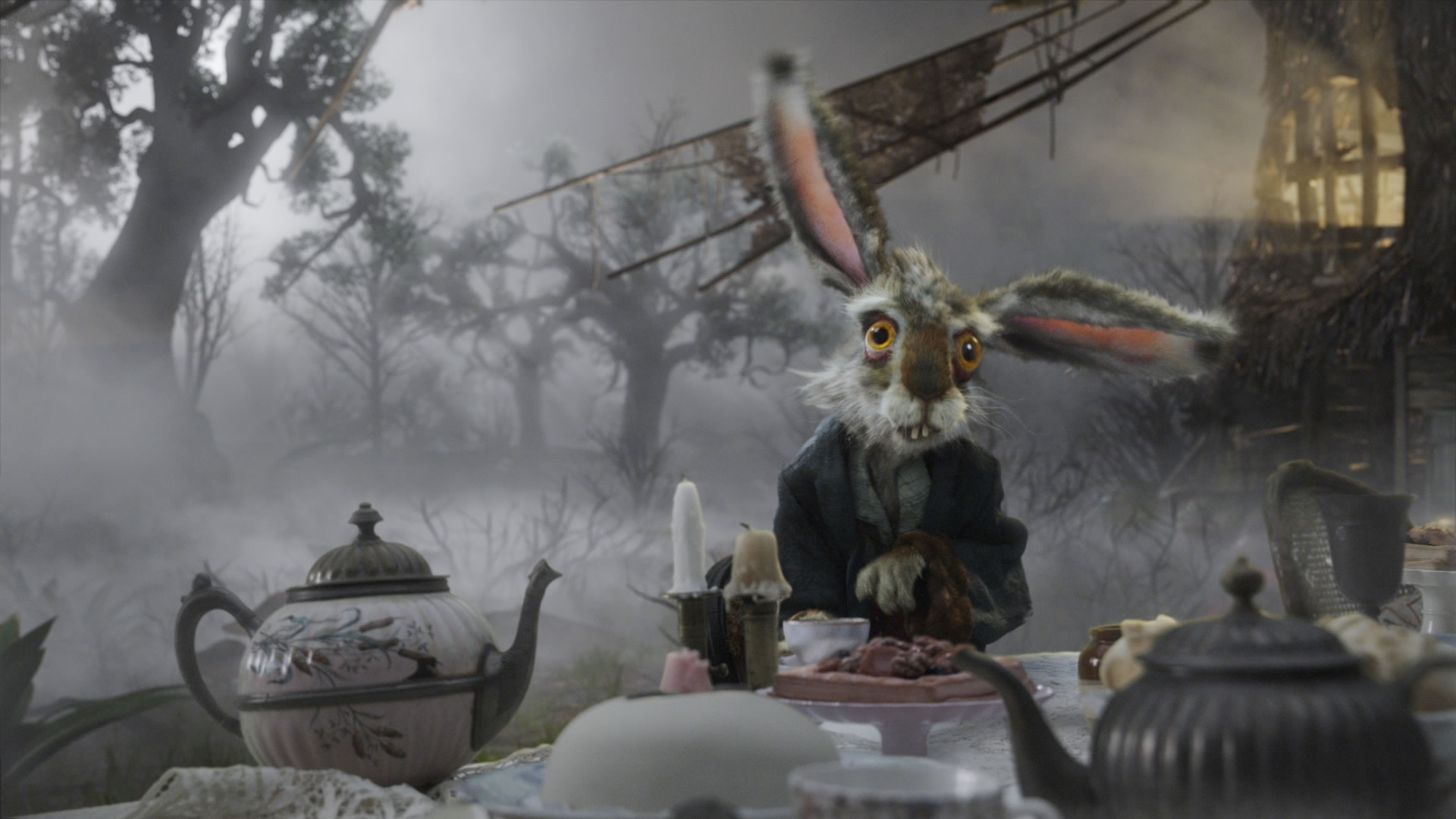 Alice In Wonderland 2010 Hd Wallpaper Background Image