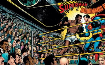 1 superman vs muhammad ali hd wallpapers background images hd wallpaper background image id587231 1518x854 comics superman vs muhammad ali voltagebd Images