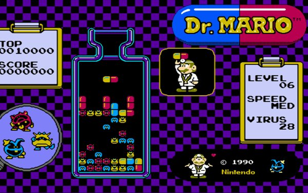 Video Game Dr. Mario Mario HD Wallpaper | Background Image
