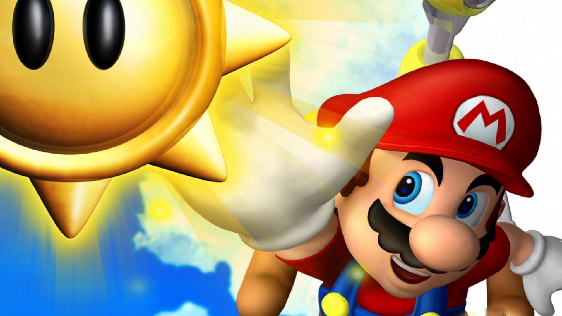2160x1920 Wallpaper Appsapk 468: Jeux Vidéo Super Mario Sunshine Mario Fond D'écran