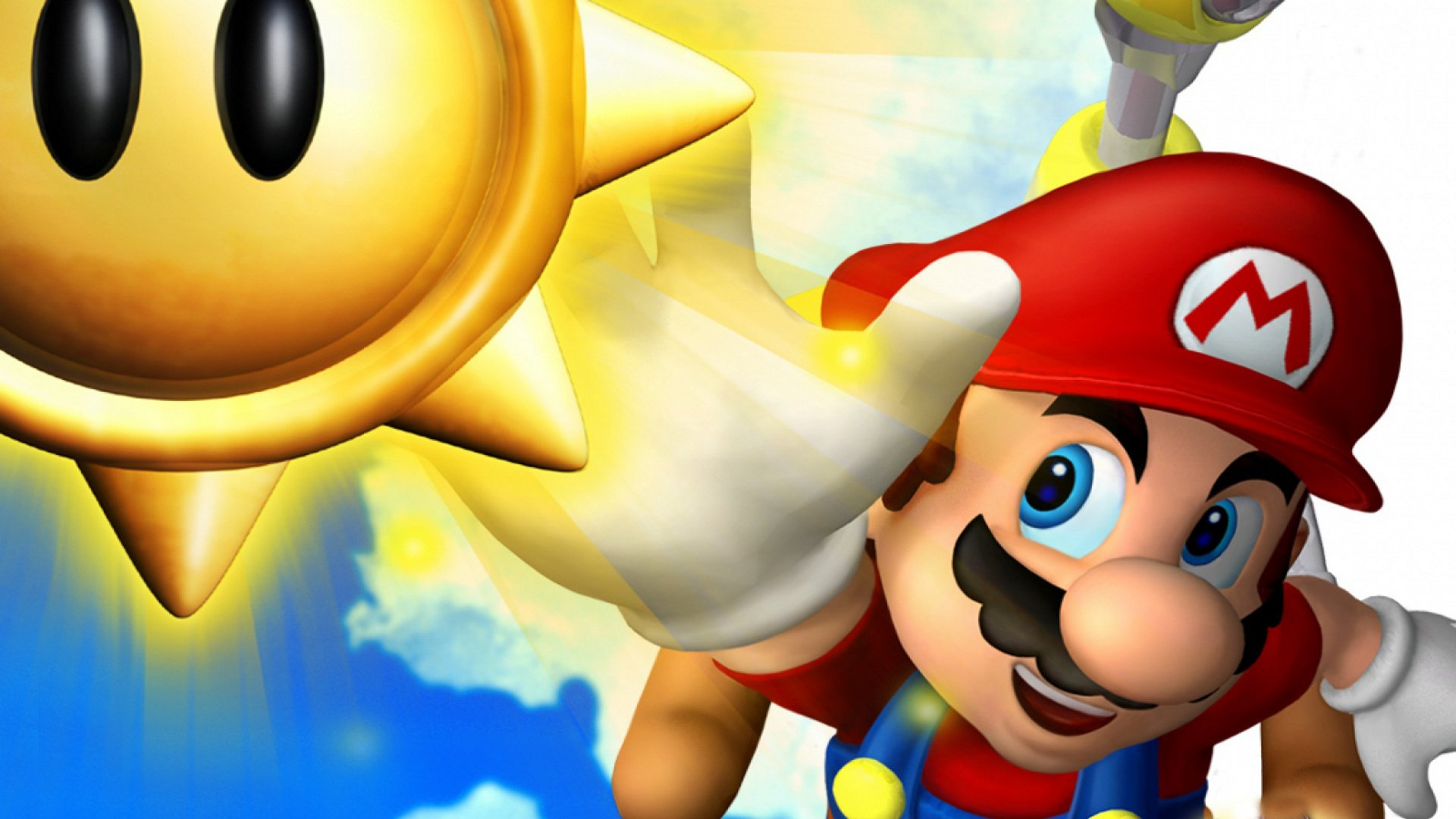 Super Mario Sunshine Hd Wallpaper Background Image 1920x1080