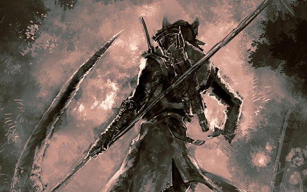 Videojuego Bloodborne Shadow of the Colossus Fondo de pantalla HD | Fondo de Escritorio