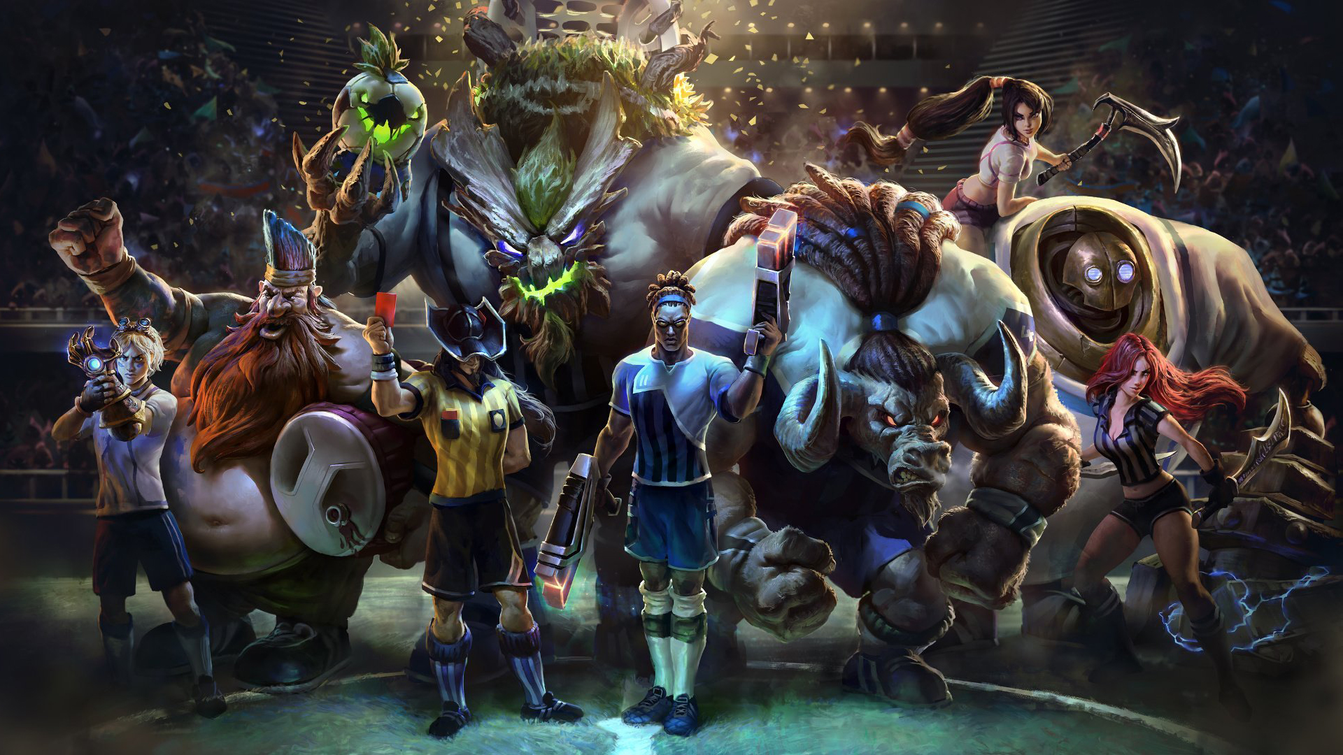 20 Alistar (League Of Legends) HD Wallpapers | Background ...