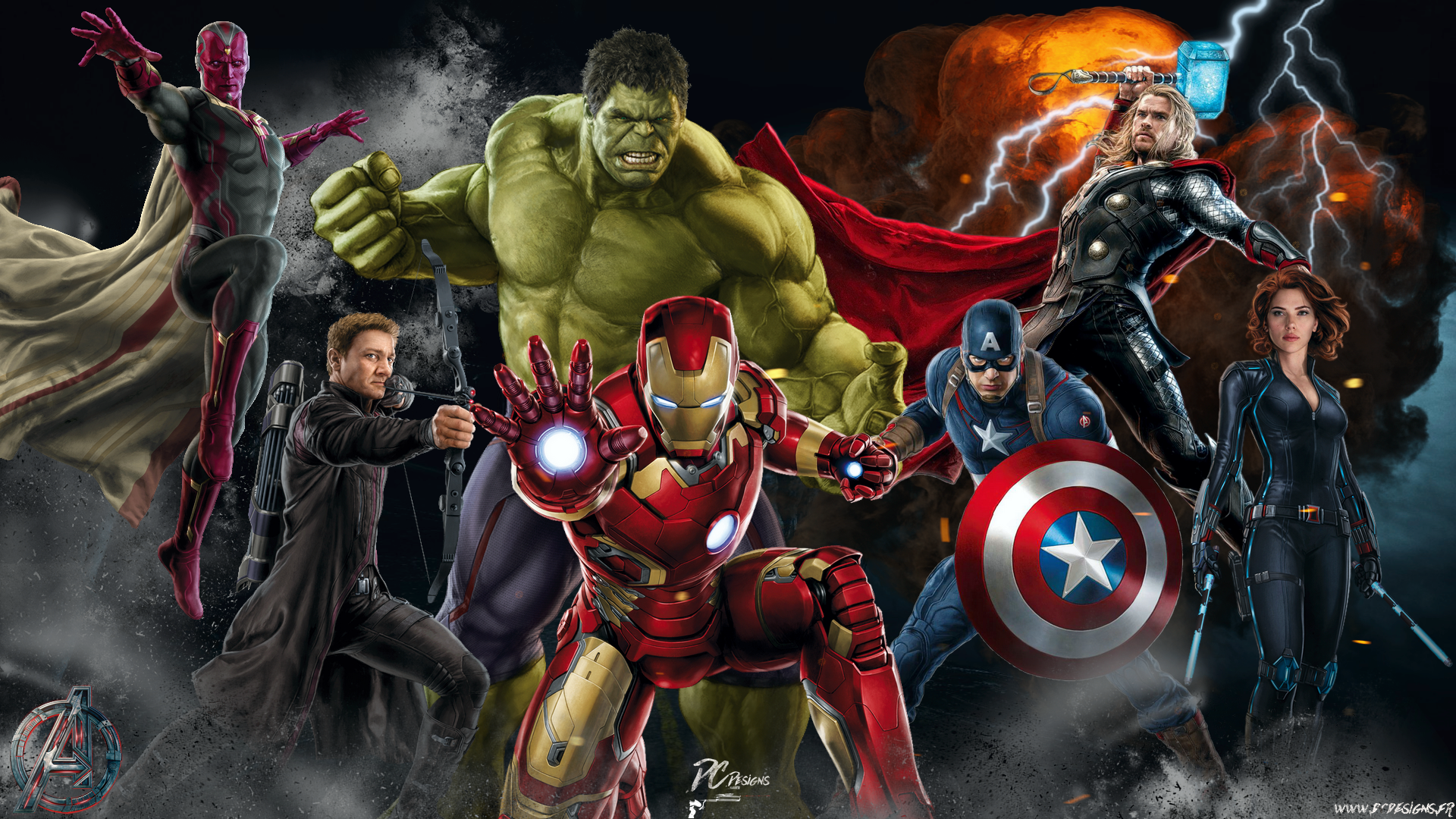 avengers assemble hd wallpaper | background image | 1920x1080 | id
